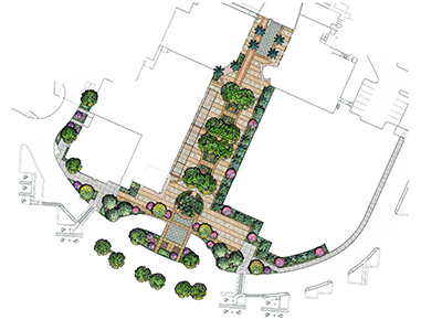 The Florida Mall Map.Innovations Design Group Landscape Architects The Florida Mall