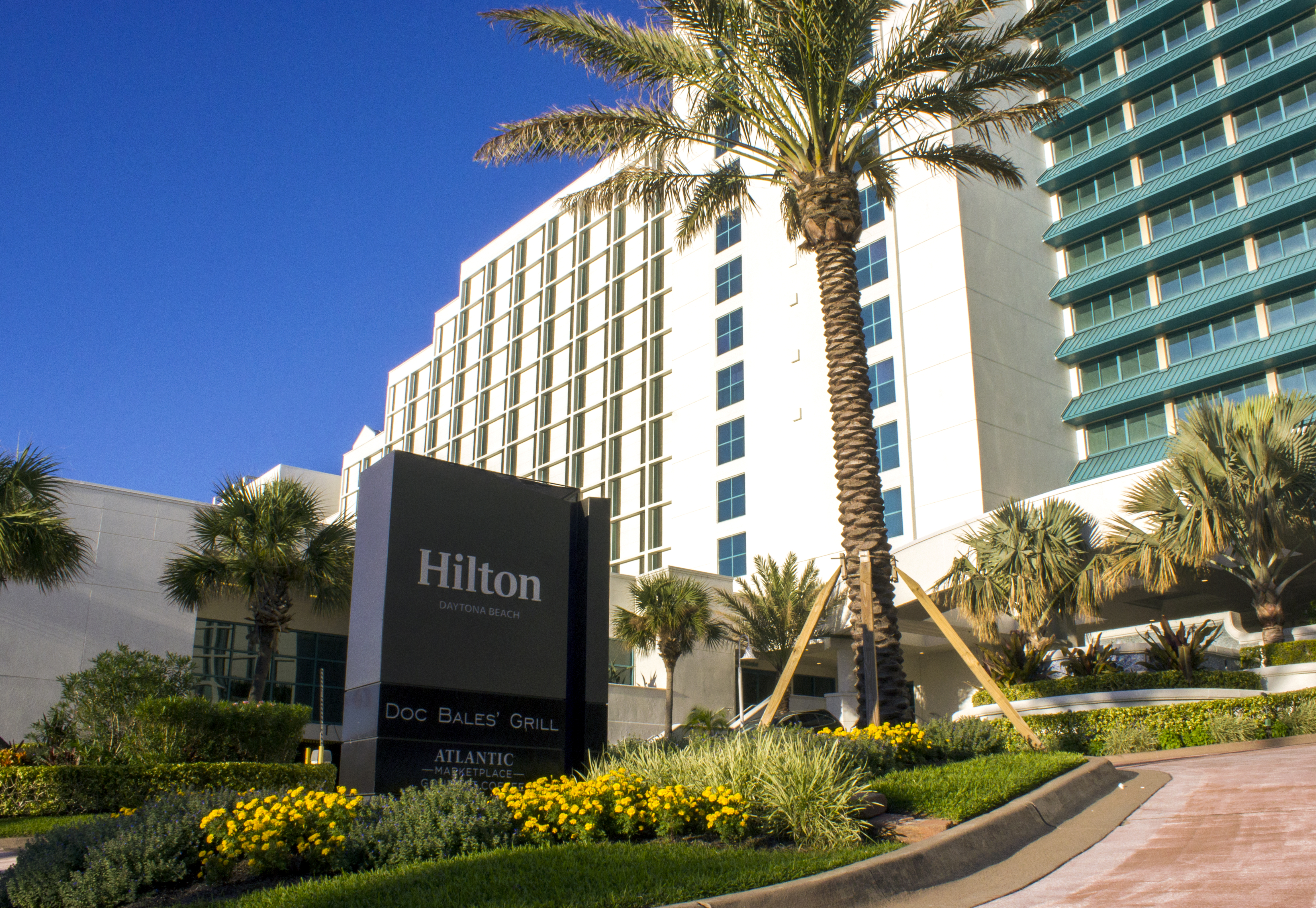 Innovations Design Group Is Proud To Have Provided Landscape Architecture Services For The 25 Million Dollar Renovations Hilton Daytona Beach
